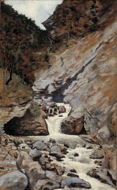 Mountain Stream in Caucasia