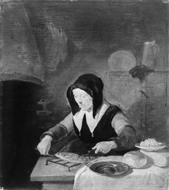 Old Woman at her Meal