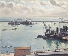 Port of Algiers - After the storm