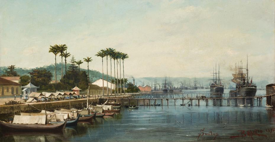 Porto de Santos (atribuído)