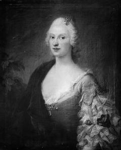 Portræt af fru Adelgunde Elisabeth Amalia von Scholten