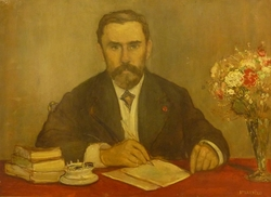 Portrait de Gustave Geffroy