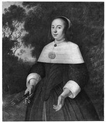 Portrait of a Lady with a Fan