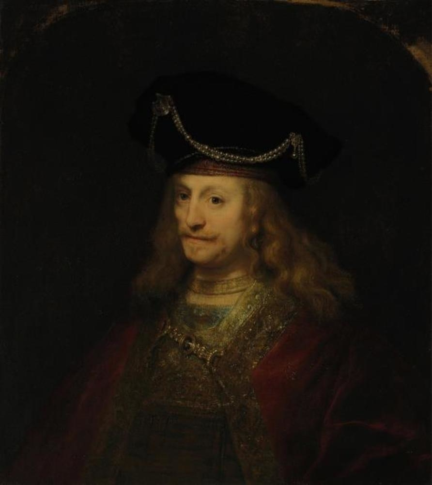Portrait of a Man in a High Beret