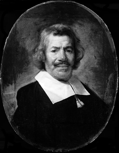 Portrait of a Man with Band Collar