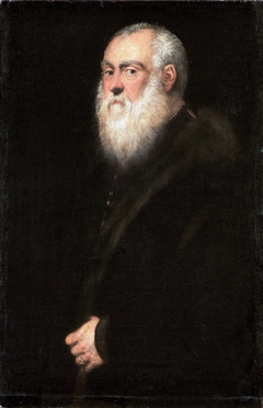 Portrait of a White-Bearded Man