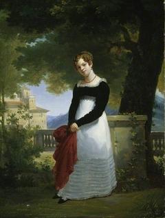 Portrait of Adélaïde-Sophie Cléret, Mme Tiolier c. 1817