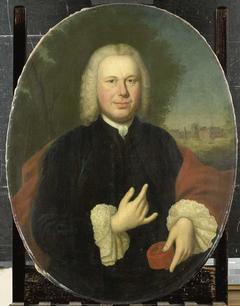 Portrait of Diederik van Bleyswijk, Baron of Eethen and Meeuwen, Lord of Babyloniënbroek, Burgomaster of Gorkum