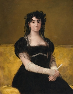Portrait of Doña Antonia Zárate