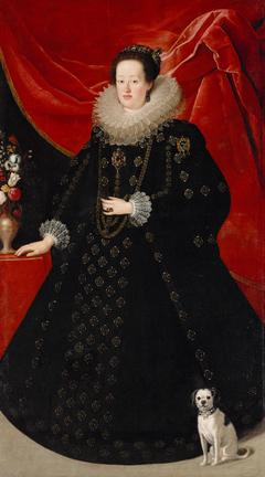 Portrait of Eleonore von Gonzaga (1598-1655), Empress in Black Dress
