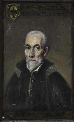 Portrait of Francisco de Pisa