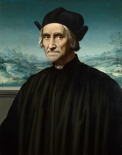 Portrait of Girolamo Benivieni