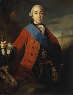 Portrait of Grand Duke Piotr Fiodorovich
