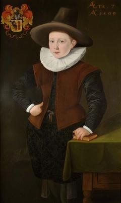 Portrait of Hector van Bouricius