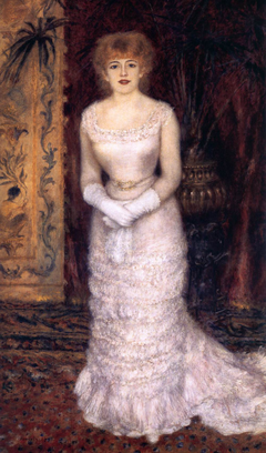 Portrait of the Actress Jeanne Samary