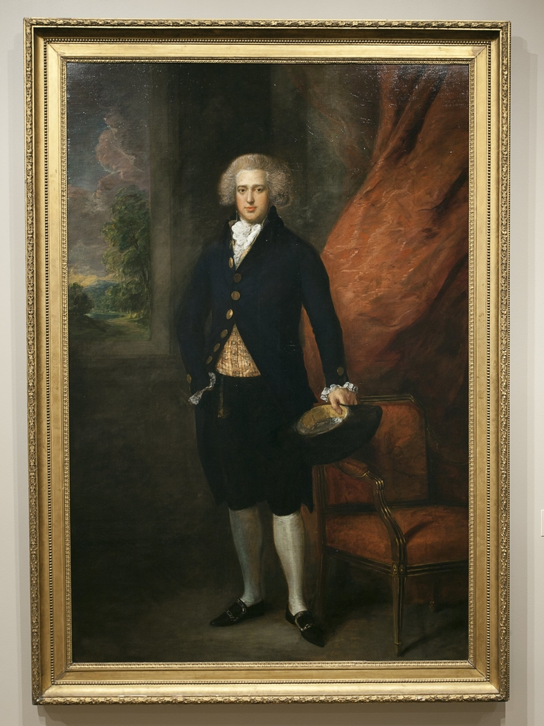 Portrait of John Langston, Esquire, of Sarsden