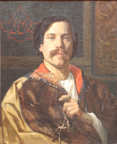 Portrait of Jules Laurens in a Syrian Coat