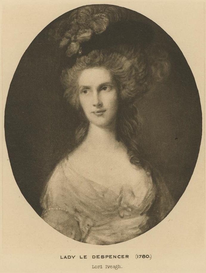 Portrait of Lady Le Despencer