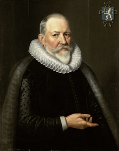 Portrait of Maerten Ruychaver, Burgomaster of Haarlem