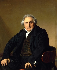 Portrait of Monsieur Bertin