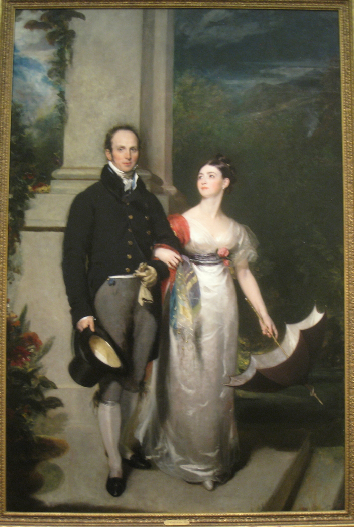Portrait of Mr. and Mrs. James Dunlop