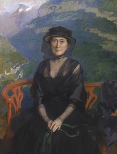 Portrait of Mrs. Addison C. Harris