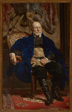 Portrait of Piotr Moszyński