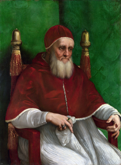 Portrait of Pope Julius II.