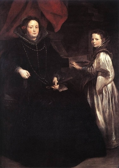 Portrait of Porzia Imperiale and Her Daughter