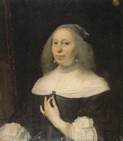 Portrait of Wilhelmina van Bronckhorst