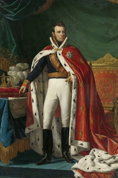 Portrait of William I, King of the Netherlands