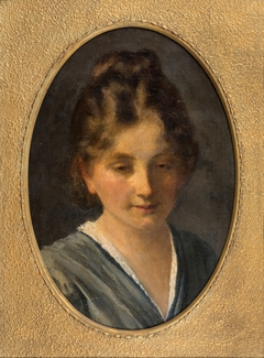 Portrait Study of a Young Girl (Miss Karen Poulsen)