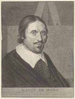 Portret van David de Haen