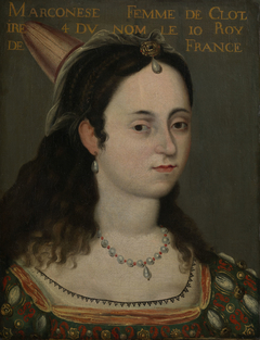 Queen Marconese, consort of Clothaire IV, King of France