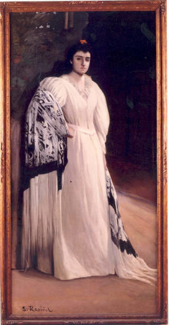 Retrato de María Riquelme