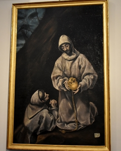 Saint Francis with Brother Leo