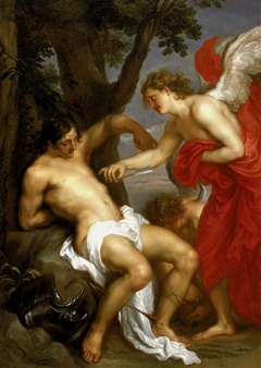 Saint Sebastian and the Angel