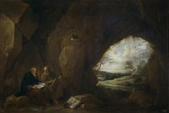 San Pablo primer ermitaño y San Antonio Abad