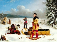 Scene in the Northwest: Portrait of John Henry Lefroy