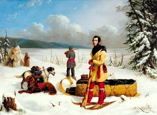 Scene in the Northwest: Portrait of John Henry Lefroy