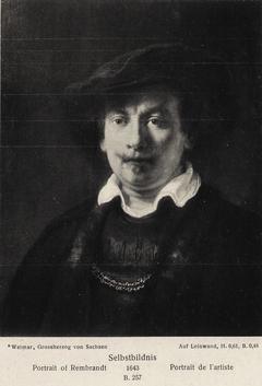 Self-Portrait stolen in 1922