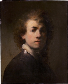 Self-portrait with breastplate