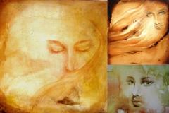 set of 3 artwork women