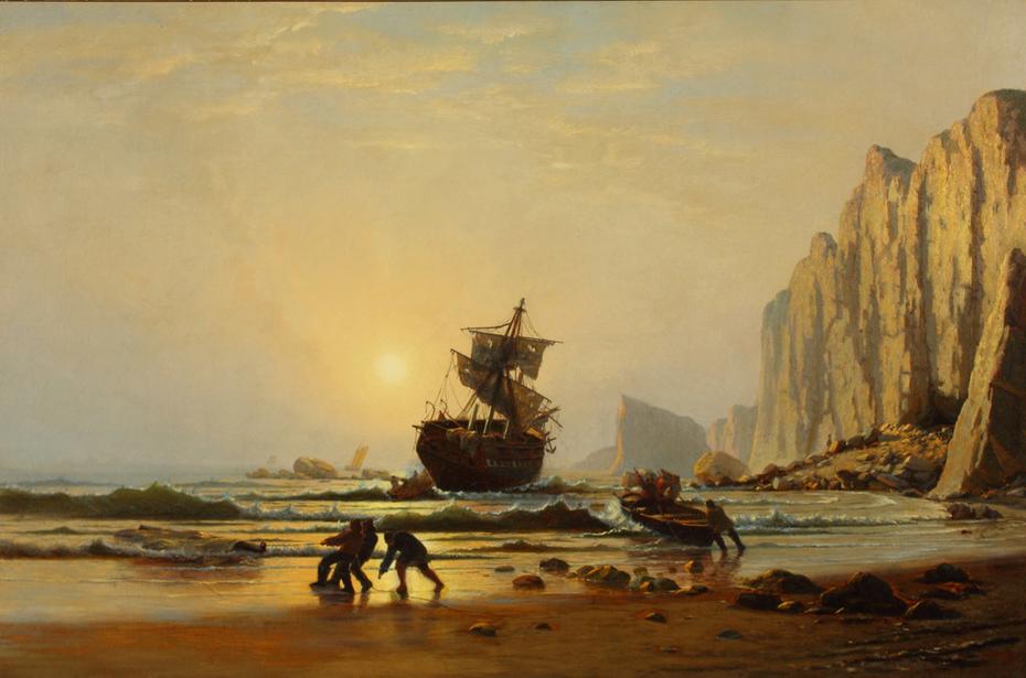 Shipwrecked off Labrador