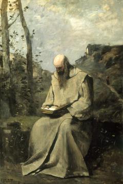 Sitting Monk, Reading