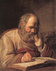 St. Luke by Frans Hals