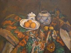Still Life with Ginger Jar Sugar Bowl and Oranges