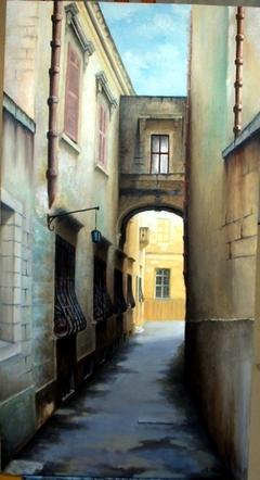 Street at Mdina.