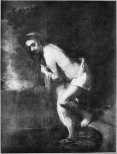 Study for Susanna in her Bath (Louvre)
