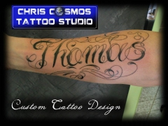 Tatttoo by Tattoo Artist Christos Tziortzis